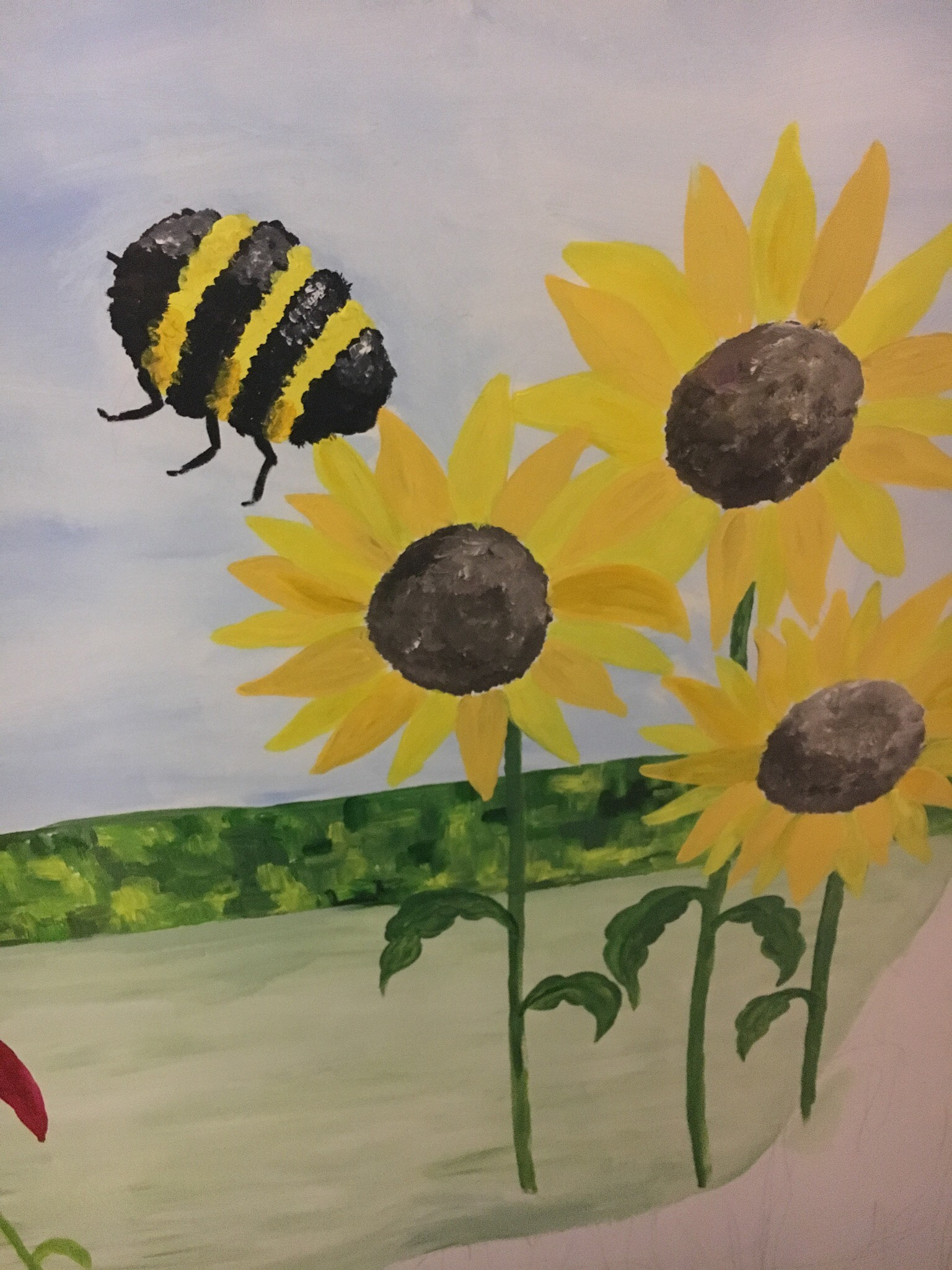 Busylizzie Art bringing fun to an outside space… | Busylizzie Art ...